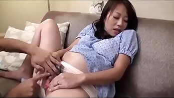 pregnant women - month pregnant thin japanese chick fucked
