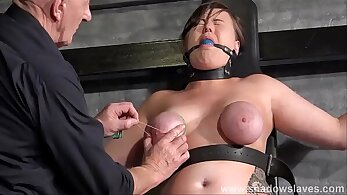 nipples fetish, nude breasts, sexual punishment, slave porn, submissive sex, top bondage clips