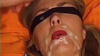 blindfolded sex, busty women, cock sucking, cum videos, cumshot porn, enormous boobs, facials in HQ, german women