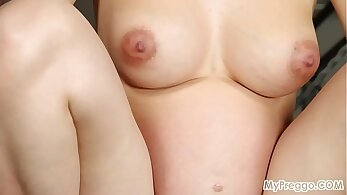 fitness club, pregnant women, sexy sport scenes